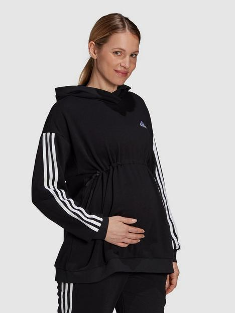 adidas-essentials-maternity-hoodie