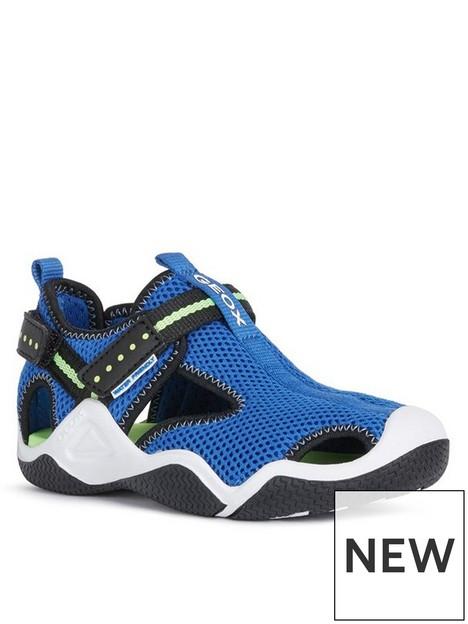 geox-boys-wader-sandals-blue
