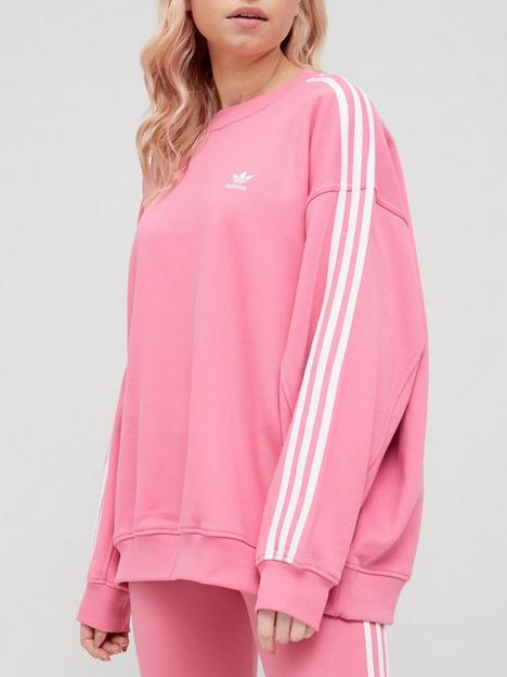 adidas-originals-oversized-sweatshirt-rose