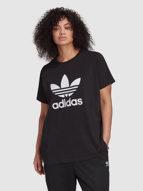 adidas-originals-trefoil-tee-plus-size