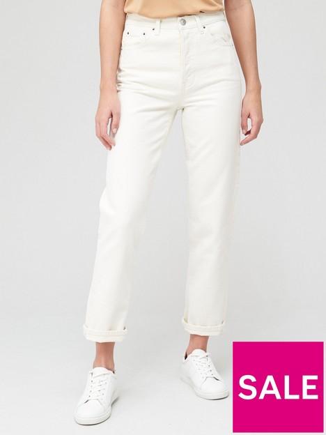 v-by-very-shortnbsppremium-high-waist-straight-jean-ecru
