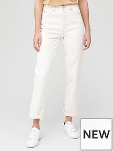 v-by-very-premium-high-waist-straight-jean-white