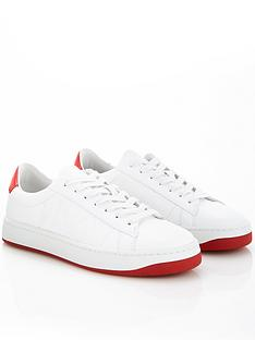 kenzo-kourt-lace-up-sneakers-whitered