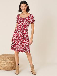 monsoon-everly-floral-print-jersey-dress-red