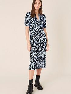 monsoon-animal-key-hole-jersey-midi-dress-blue
