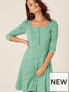 monsoon-non-print-square-neck-jersey-dress-green