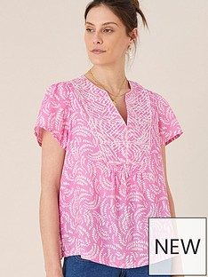 monsoon-linen-print-embroidered-top-pinknbsp
