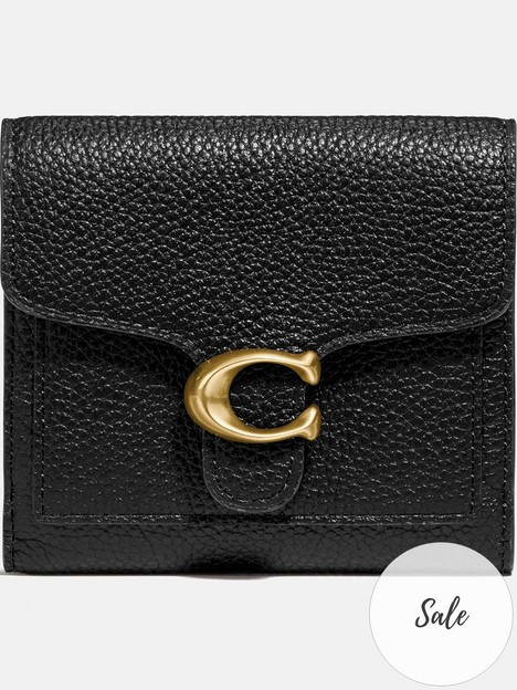 coach-tabby-small-polished-pebble-wallet-black