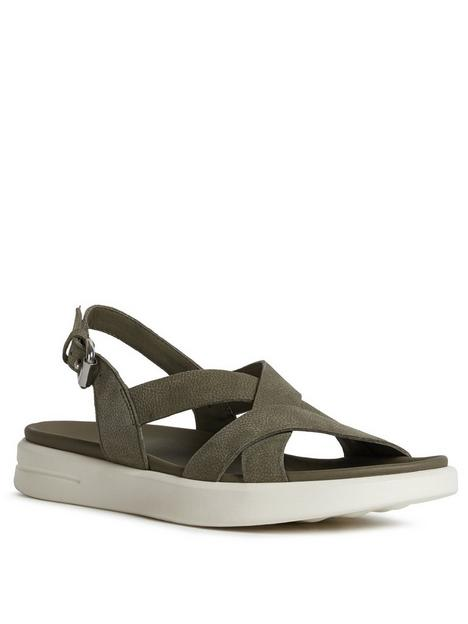 geox-xand-2s-flat-sandal-olive