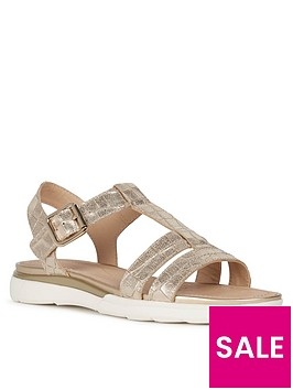 geox-hiver-leather-flat-sandalnbsp--nbspgold