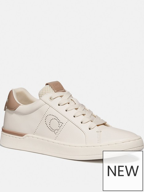 coach-lowline-leather-trainers-white