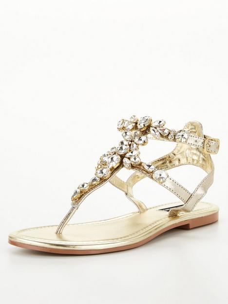 river-island-gladiator-embellished-flat-sandal-gold