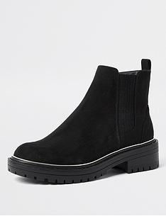 river-island-wide-fit-chunky-chelsea-boot-black