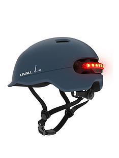 livall-c20-smart-communter-helmet-blue