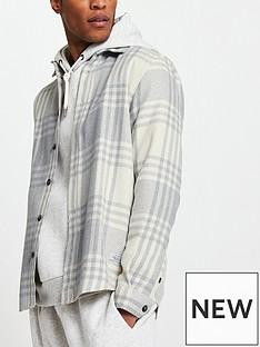 river-island-long-sleevenbspcheck-shirt-grey