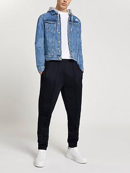 river-island-classic-hooded-denim-jacket-blue