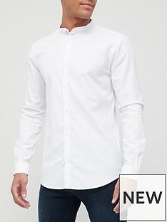 river-island-maison-rivieranbspgrandad-slim-fit-shirt-white