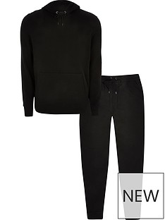 river-island-hoodie-amp-joggers-tracksuit-set-black