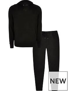 river-island-hoodie-amp-joggers-tracksuit-set-black