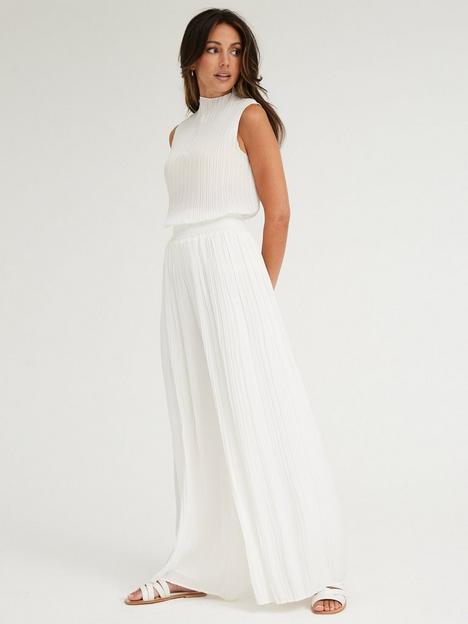 michelle-keegan-plisse-wide-leg-trousers-white