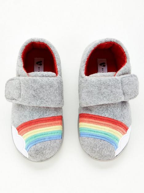 v-by-very-rainbow-strap-slippers-grey