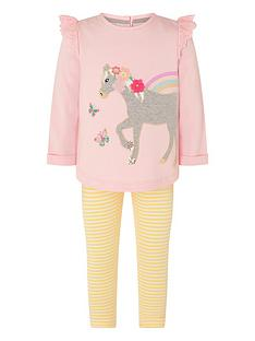 monsoon-baby-girls-sew-horse-sweat-top-and-legging-set-pink