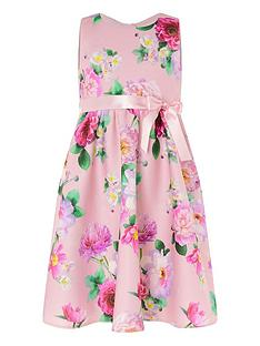 monsoon-girls-floral-sleeveless-scuba-dress-pink