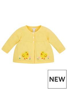 monsoon-baby-girls-chick-cardi-yellow