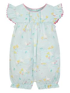 monsoon-baby-girls-chick-printed-romper-blue