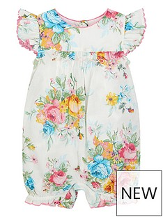 monsoon-baby-girls-floral-bloom-romper-ivory