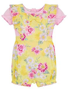 monsoon-baby-girls-floral-romper-set-with-top-yellow