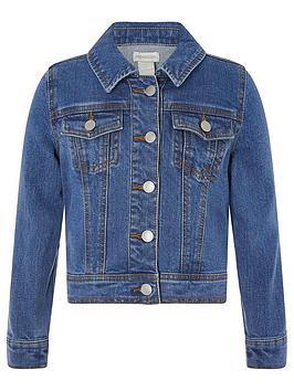 Monsoon Girls Denim Jacket - Blue