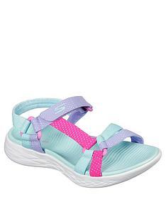 skechers-600-summer-sense-sandal-aqua