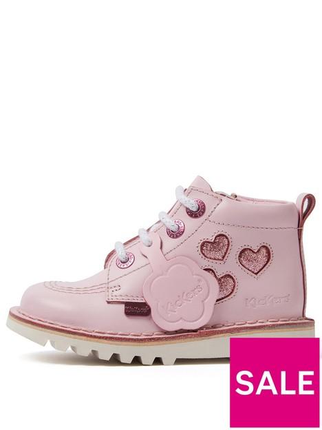 kickers-kick-hi-heart-boot-pink