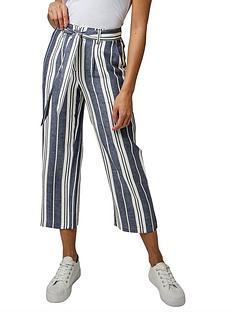 joe-browns-striped-summer-culottes-blue