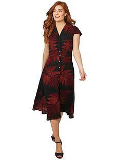 joe-browns-perfect-palm-linen-mix-dress