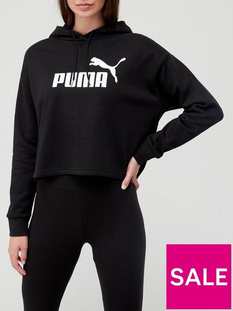 puma-essentialnbspcropped-logo-hoodie-black