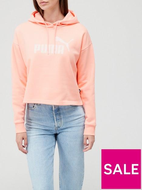 puma-essentialnbspcropped-logo-fleecenbsphoodie-pink