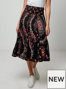joe-browns-pop-of-bright-skirt-black-multi