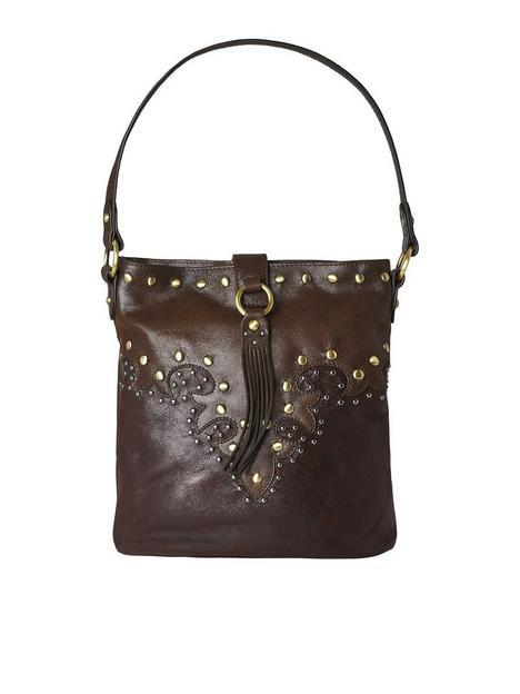 joe-browns-island-escape-boho-leather-bag--nbspbrownnbsp
