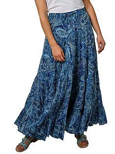 joe-browns-tantalising-printed-skirt-navy