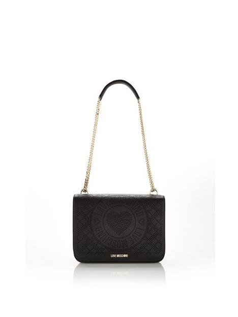 love-moschino-perforated-shoulder-bag-black