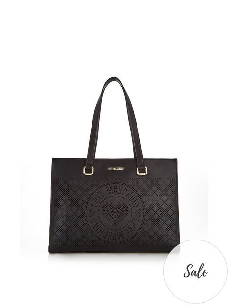 love-moschino-perforated-logo-shopper-bag-black