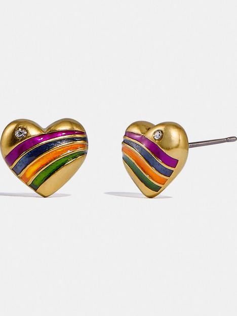 coach-rainbow-heart-stud-earrings-goldmulti