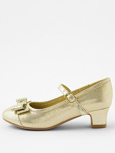 accessorize-girls-bow-shimmer-flamenco-shoes-gold