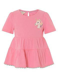 monsoon-girls-unicorn-tiered-top-pink