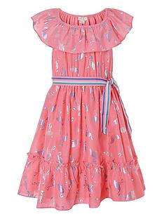 monsoon-girls-flamingo-foil-frill-dress-coral