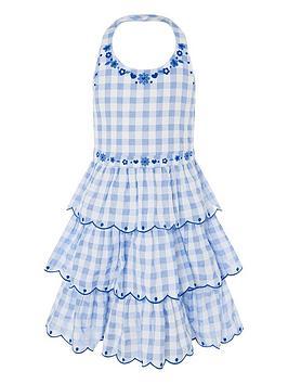 monsoon-girls-gingham-halter-embroidered-dress-blue