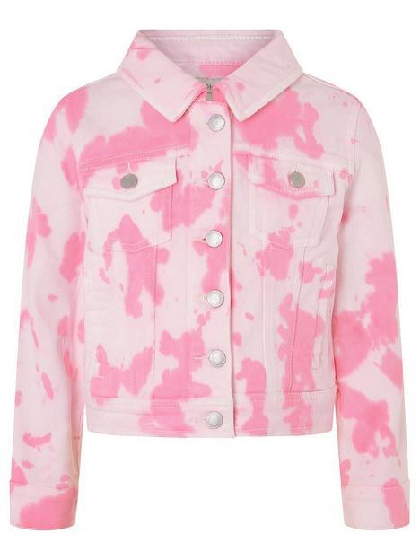monsoon-girls-tie-dye-denim-jacket-pink