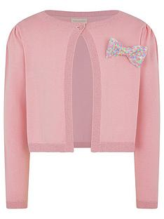 monsoon-girls-sequin-bow-bolero-pink